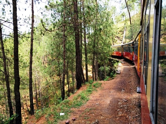 Toy train, Shimla @Life on Weekends
