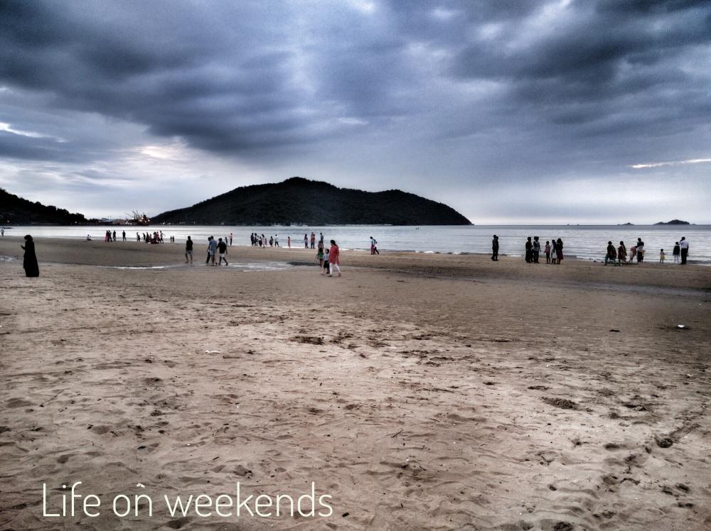 Where Rabindranath Tagore wrote his poem, Tagore beach, Karwar, Uttar Karnataka on NH 66