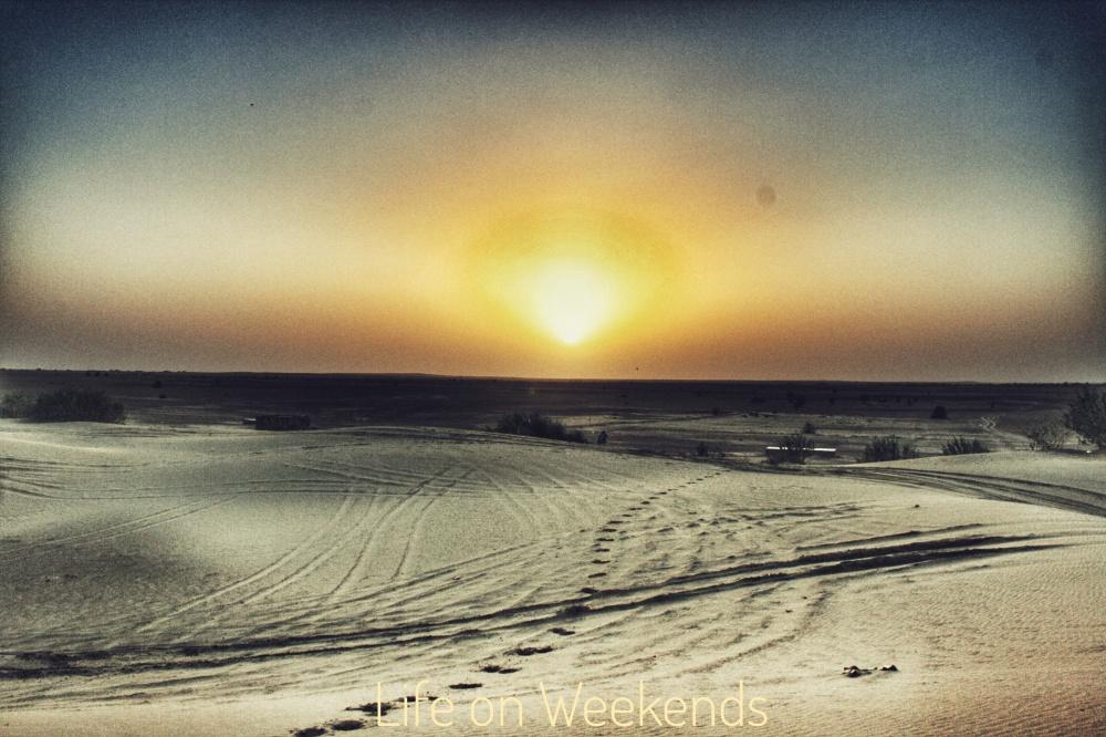 The Thar desert, Jaisalmer