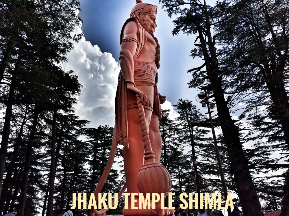 Jhaku Temple, Shimla @Life on weekends