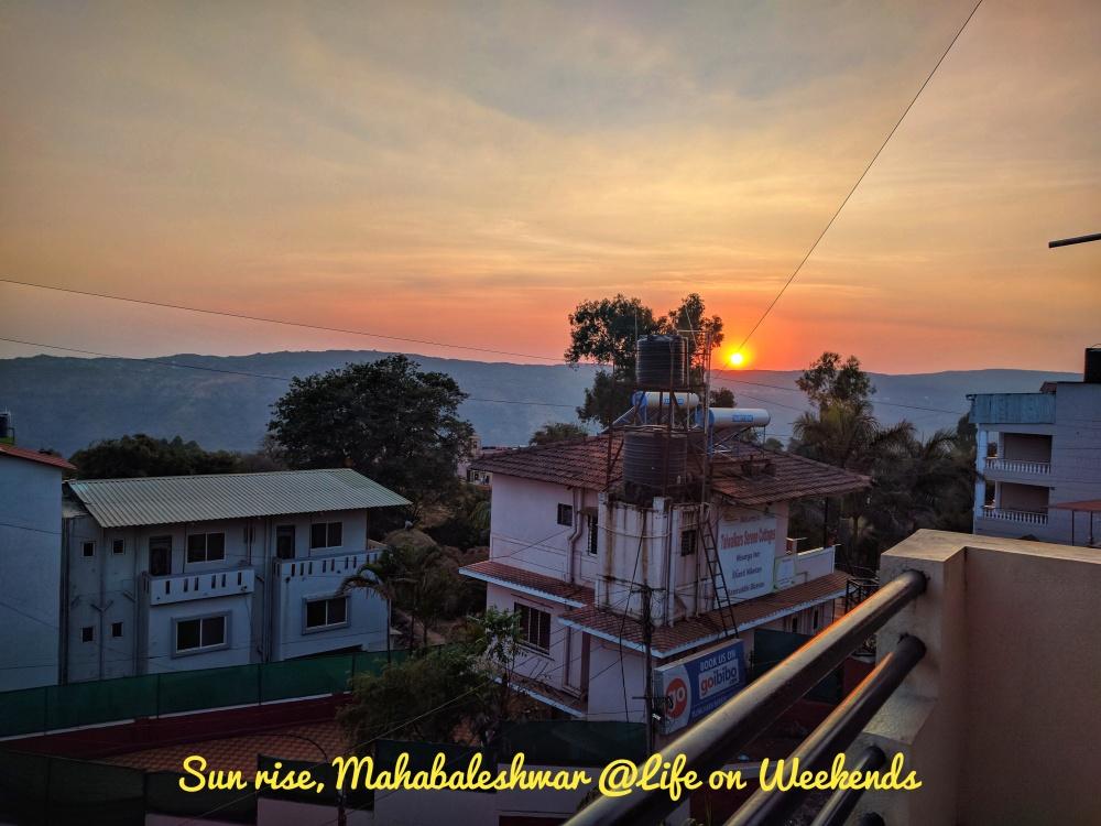 Mahabaleshwar @ Life on Weekends