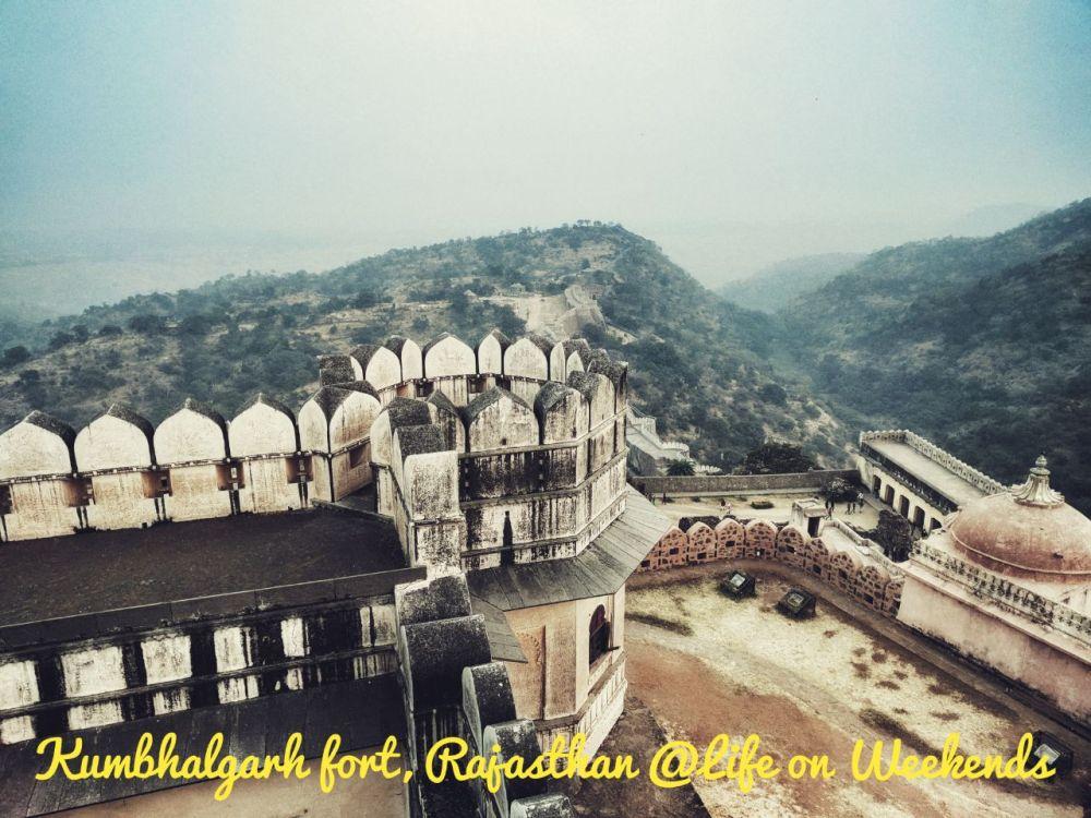 Kumbhalgarh Fort, Chittaur @LifeonWeekends.com