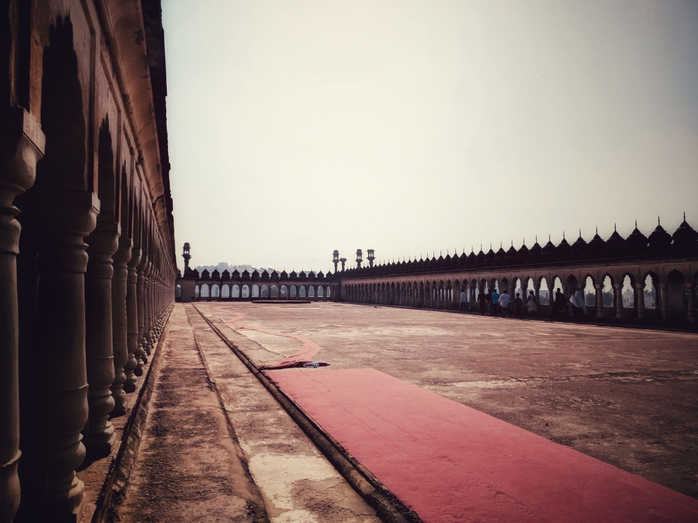 The terrace of Bada Imambara of Lucknow @Life on Weekends
