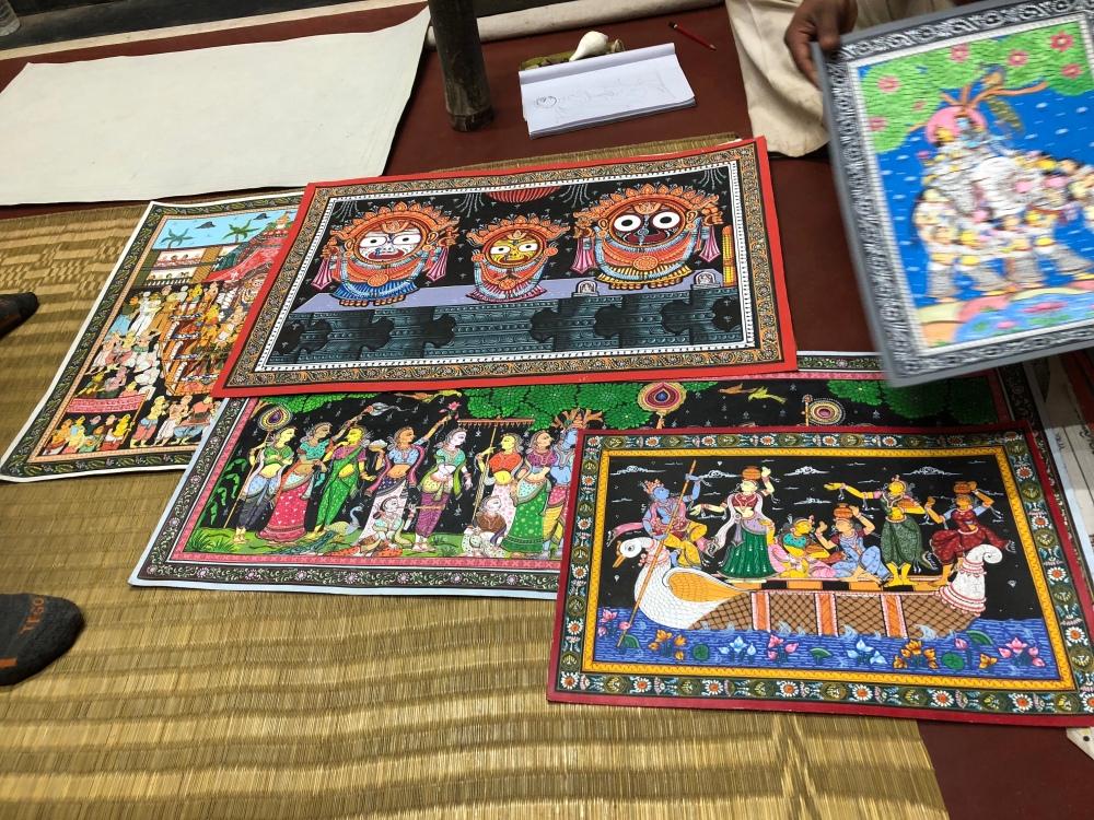 Jai Jagannath, Raghurajpur, Odisha