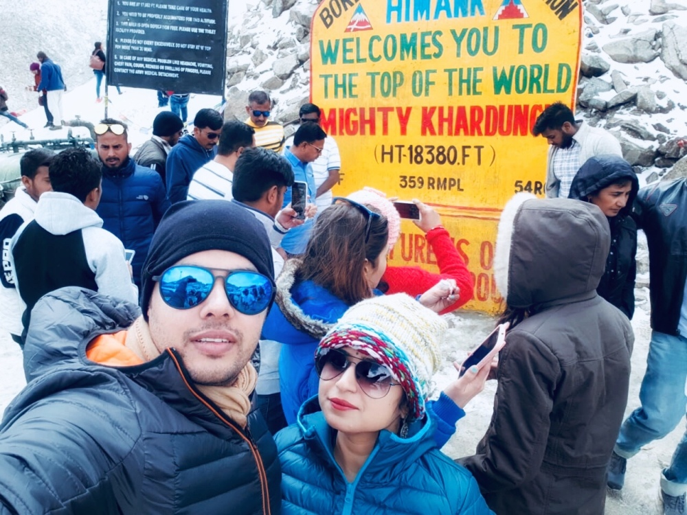 Khardungla - the highest motorable pass, Ladakh