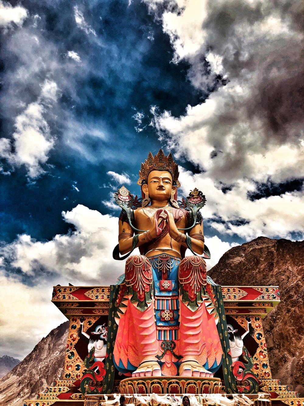 Lord Buddha of Diskit Monastery