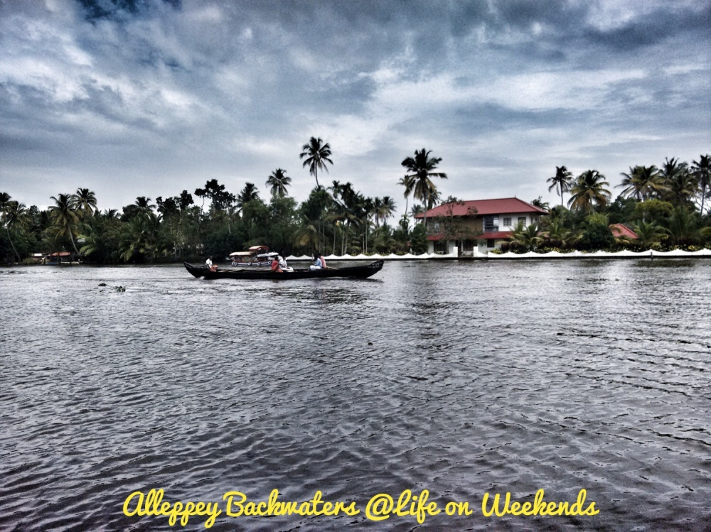 Allepey backwaters, Kerala