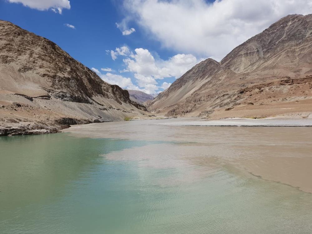 Zanskar Lake (Sangam), Leh
